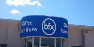 BFX Furniture Sign
