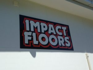 Impact Floors Signs