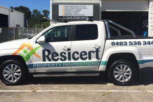 Vehicle Sign Resicert