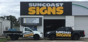 Suncoast Signs Vehicles