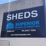 Superior Garages Signage Sunshine Coast