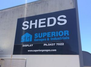 Superior Garages Signage Sunshine Coast